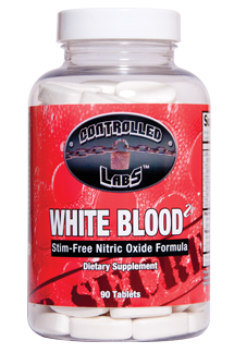 WHITE BLOOD 2 Supplement - Stim-free Nitric Oxide Formula